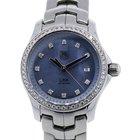 TAG Heuer Link WJF131F Mother of Pearl Diamond Dial Ladies Watch