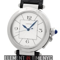 Cartier Pasha Collection 18k White Gold 42mm Automatic Ref....