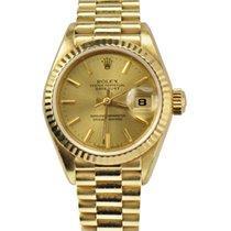 Rolex Ladies President Datejust Yelow Gold REF: 69178