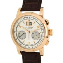 A. Lange & Söhne Datograph 403032 In Red Gold And Leather,...