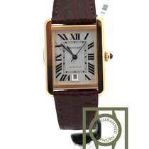Cartier Tank Solo XL red pink gold or rose w5200026 NEW