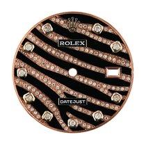 Rolex DateJust 36mm Rose Gold Zebra Design Diamond Set Custom...
