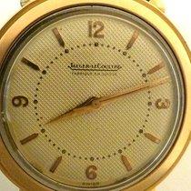 JAEGER LECOUTRE vintage jlc wafle pink gold art deco lugs