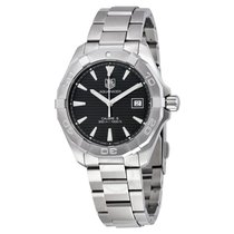 TAG Heuer Aquaracer Automatic Black Dial Stainless Steel...