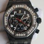 Audemars Piguet Royal Oak Offshore Forged Carbon Black dial...