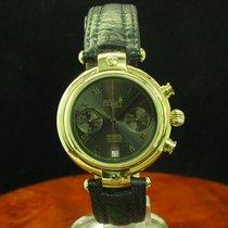 Poljot Basilika Chronograph Gold Mantel Handaufzug Herrenuhr...