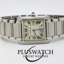 Cartier Tank Francaise Midsize 2530mm Quartz 2465 2974