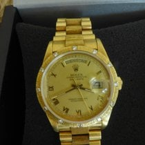 Rolex 18108 - Oyster Perpetual Day Date /18k/ 12 Diamanten/ 36mm