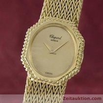 Chopard Lady 18k (0,750) Gelb Gold Damenuhr Handaufzug 5045...