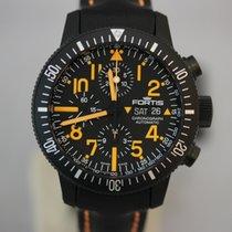 Fortis B-42 Black Mars 500 Chronograph Limited Edition NEU