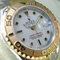 Rolex Yachtmaster 169623 Ss/18k Yellow Gold White Dial 29mm