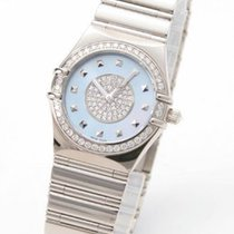 Omega 1970.11.52 Constellation Brillantes in White Gold with...