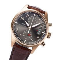 IWC Spitfire 18K Solid Rose Gold