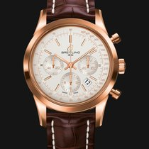 Breitling Transocean Chronograph Rose Gold
