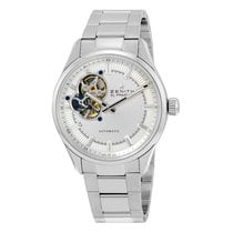 Zenith El Primero Synopsis Silver Dial Stainless Steel...