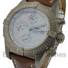 Breitling Chrono Avenger with White Dial - Titanium on ...