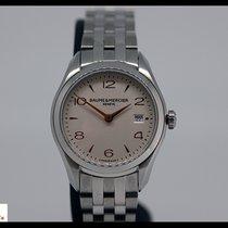 Baume & Mercier Clifton steel ladies watch with date