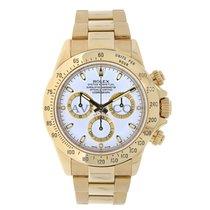 Rolex DAYTONA 18K Yellow Gold Watch Diamond MOP