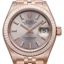 Rolex Lady-Datejust 28 18 kt Everose-Gold 279175 Pink Index...