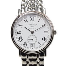 Longines Presence Stainless Steel White Automatic L4.804.4.11.6
