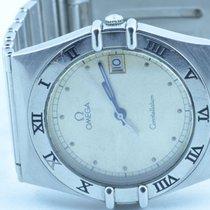 Omega Constellation Herren Uhr Quartz 34mm Stahl/stahl Rar Mit...