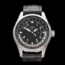 IWC Pilot's WorldTimer Stainless Steel Gents IW326201