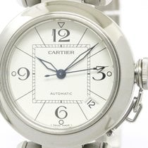 Cartier Polished Cartier Pasha C Steel Automatic Unisex Watch...