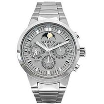 IWC IW375607 GST Perpetual Calendar Chronograph in Steel - On...