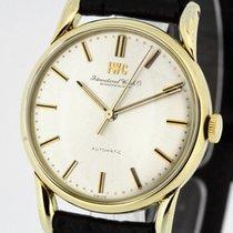 IWC Vintage Portofino  solid 18K Gold 1957 Ref. 583 Cal. 852