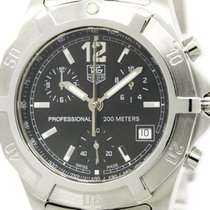 TAG Heuer Polished Tag Heuer 2000 Exclusive Chronograph Quartz...