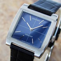 Longines Conquest Stainless Swiss Made Steel Manual 1970s Mens...