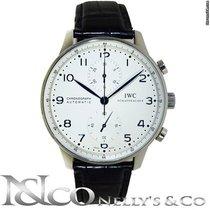 IWC Portuguese Chronograph White Dial