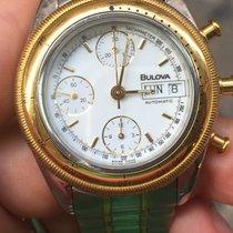 Bulova Chronograph Cronografo Oro Gold automatic automatico day