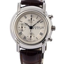 Lucien Rochat Keos Chronograph 40mm In Acciaio