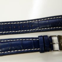 Breitling alligator Bleu avec boucle ardillon 24.20