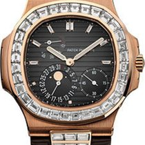 Patek Philippe Nautilus Mens Rose Gold 5724R-001
