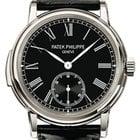Patek Philippe 5078P-010 Grand Complications 38mm Black Roman...