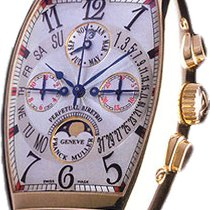 Franck Muller Cintrée Curvex Ewiger Kalender Chronograph