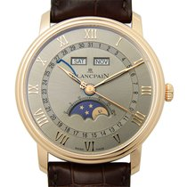 Blancpain Villeret 18k Rose Gold Gold Automatic 6654-3613-55b