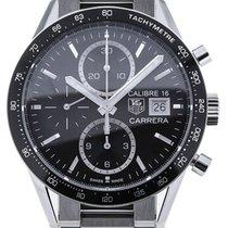 TAG Heuer Carrera 41 Chronograph Black Dial