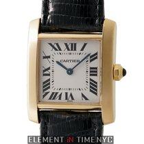 Cartier Tank Francaise  25mm Midsize 18k Yellow Gold Quartz...