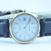 Eberhard & Co. Damen Uhr Stahl/stahl Quartz 25mm Rar...