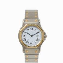 Cartier Santos Ronde Wristwatch, Switzerland, 1990s