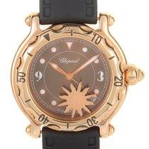 Chopard Happy Sport Sun Brown Brown Dial Ladies Quarz Watch