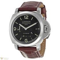 Panerai Luminor 1950 10 Days GMT Stainless Steel Men`s Watch