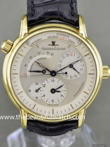 Jaeger-LeCoultre MASTER GEOGRAPHIC YELLOW GOLD 18K