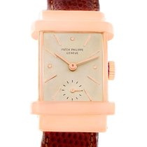 Patek Philippe Top Hat Vintage 18k Rose Gold Watch 1450