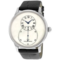 Jaquet-Droz Grande Seconde Automatic Ivory Dial 18kt White...