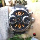 Graham Swordfish 12-6 Automatic Chronograph Orange Numerals