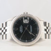 Rolex Datejust Steel Black Dial NEVER POLISHED (Only Box)